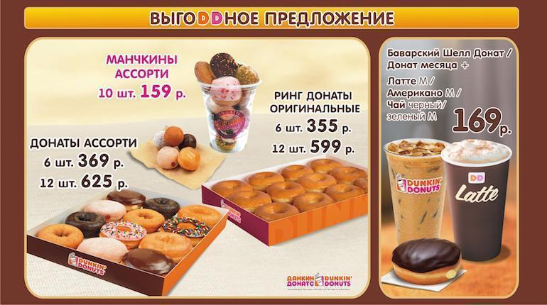 Франшиза Dunkin' Donuts 1