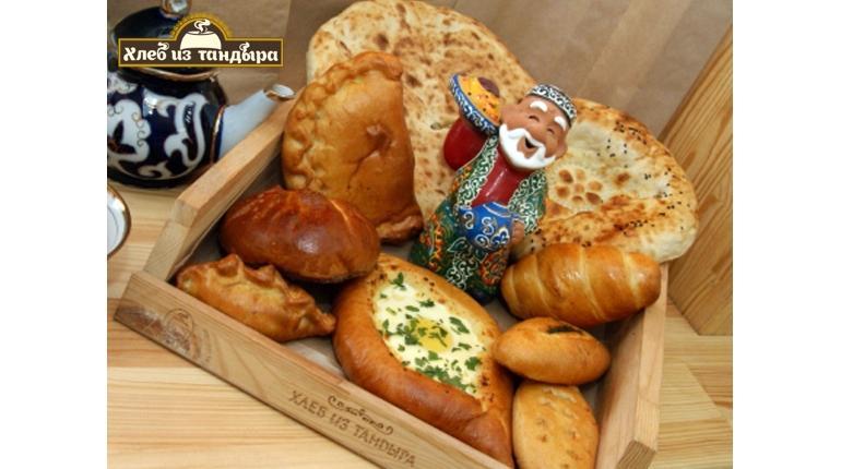 Кафе пекарня грузинский хлеб