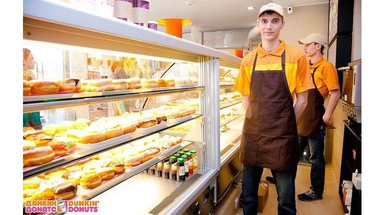 Франшиза Dunkin' Donuts 4