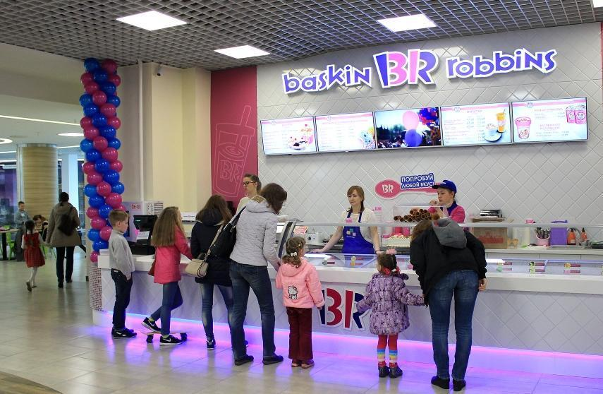 Франшиза кафе Баскин Роббинс развитие сети фото 4